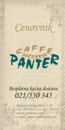 Cene - Panter