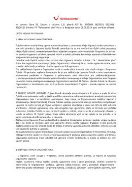 Preuzmite Opšte uslove putovanja u pdf formatu