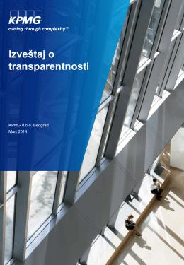 Izveštaj o transparentnosti