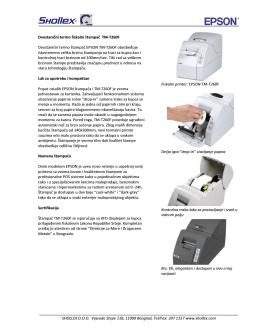 Skinite brošuru sa više informacija