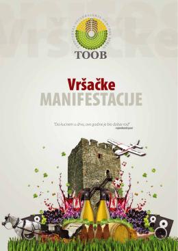MANIFESTACIJE - Turistička organizacija opštine Vršac