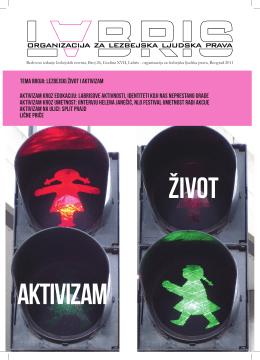 tema broja: Lezbejski život i aktivizam aktivizam kroz