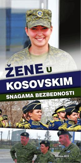 06.11.2013Žene u Kosovskim Snagama Bezbednosti