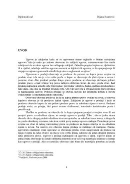 Diplomski rad Dijana Ivančević 4 Ugovor je zaključen kada su se