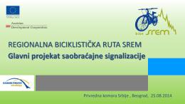 Projekat postavljanja saobraćajne signalizacije