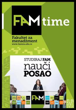 FAMtime-85-86-WEB - Fakultet za menadžment