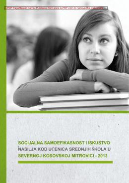 socijalna samoefikasnost i iskustvo nasilja kod