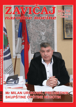 ZAVIČAJ JAN - FEB 2012.