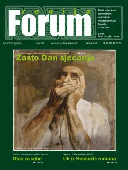 Prvo spomen - forum bošnjaka/muslimana crne gore