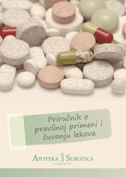 Priručnik o pravilnoj primeni i čuvanju lekova - Apoteka