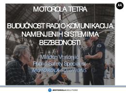 TETRA rešenja i enkripcija mobilnih komunikacija