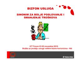 BIZFON USLUGA