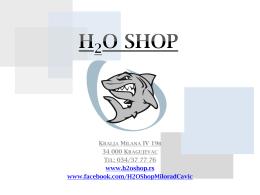 H2O Shop Catalog ( PDF )