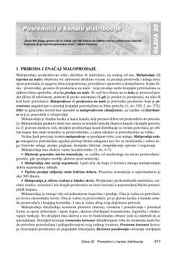 1 PRIRODA I ZNA^AJ MALOPRODAJE