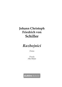 Razbojnici – (1781) – Johann Christoph Friedrich von Schiller