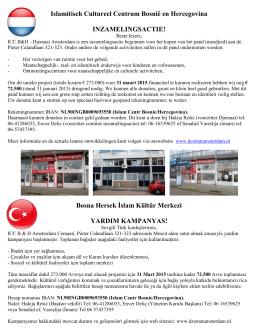 Islamitisch Cultureel Centrum Bosnië en Hercegovina