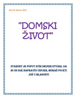 Broj 10, februar 2014. - Gerontološki centar Sarajevo