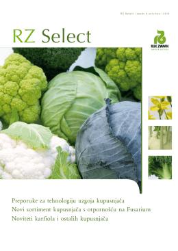 Rijk Zwaan noviteti za 2013 Karfiol i ostale kupusnjače