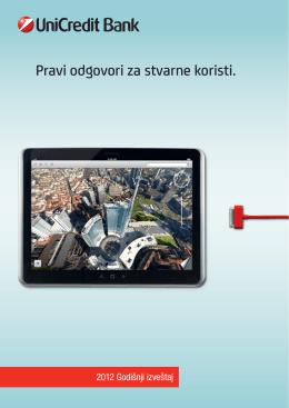 Godišnji izveštaj 2012. - UniCredit Bank Srbija ad Beograd