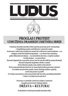ludus191 - Udruženje dramskih umetnika Srbije