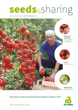 Rijk Zwaan selekt za proizvođače paradajza u Srbiji za 2014
