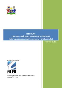 analiza upitnika - drvna industrija - ALER