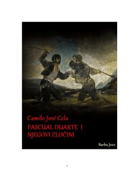 Pascual Duarte i njegovi zločini
