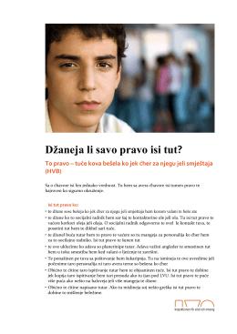 Vet du vilka rättigheter du har HVB - Romani