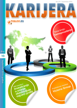 Magazin Karijera - PDF - Visoka rezolucija