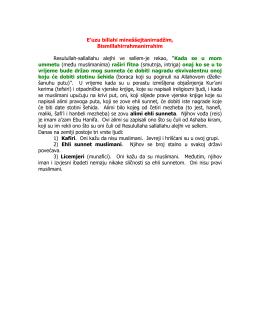 Iman i islam pdf