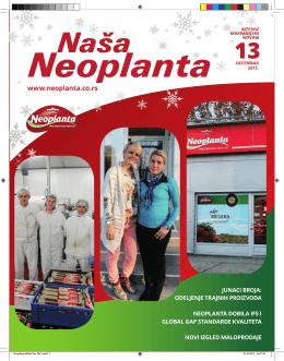 Naša Neoplanta 13, Decembar 2013