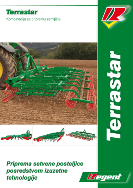 Katalog Regent setvospremači TerraStar