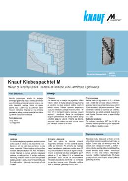 Knauf Klebespachtel M