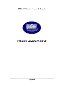 - Opšta bolnica Đorđe Joanović Zrenjanin