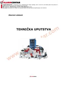 PC510, PC585, PC1565-2P, PC5010 - uputstvo (srpski)