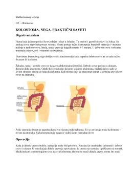 Nega kolostome.pdf - Dom zdravlja Obrenovac