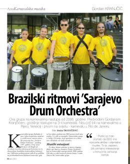 09.2011 intervju magazin AZRA Sarajevo Drum Orchestra
