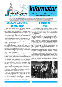 2013 Avgust - Subotičke pijace