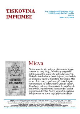Jevrejski pregled br. 9 / septembar 2010
