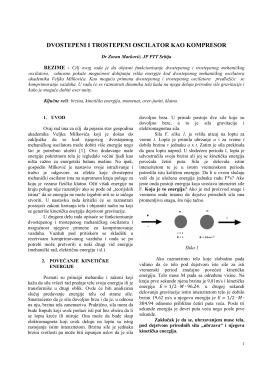Dvostepeni i trostepeni oscilator kao kompresor