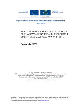 Nove Preporuke FATF