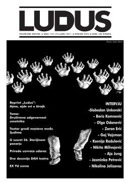 ludus173 174 - Udruženje dramskih umetnika Srbije