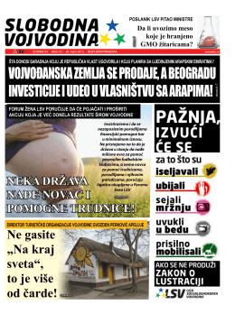 Slobodna Vojvodina br. 92