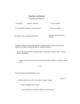 AnalizaVarijanse (.pdf)