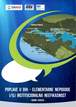 Poplave u BiH – Elementarne nepogode i/ili institucionalna