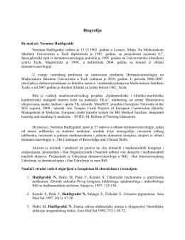 SENATU VISOKE ŠKOLE - fakultet kozmetologije i estetike