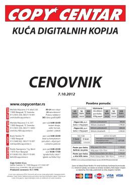 cenovnik usluga (PDF, 637KB)