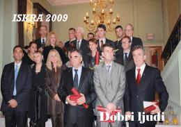 Dobri ljudi - Iskra 2009 - Publikacija Fonda za