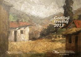 Godisnji Izvestaj 2013