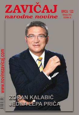 ZAVIČAJ Oktobar 2012.